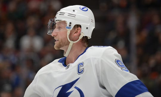 """""""With the expectations so high for our group, we came into this seasonthinking this is our year,"""" Lightning captain Steven Stamkos says."""
