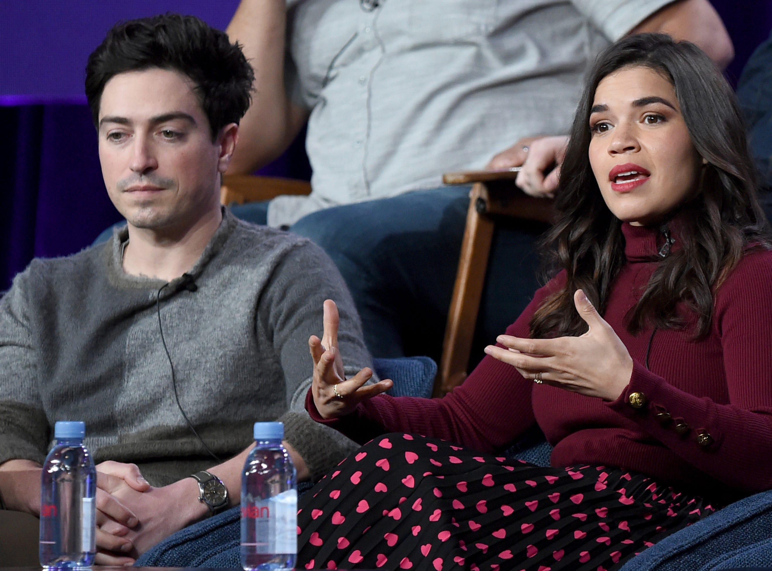 "Ben Feldman and America Ferrera discuss their NBC series ""Superstore,"" now in its fourth season."