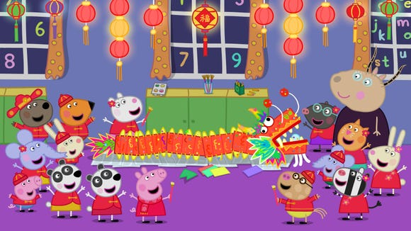 Peppa Pig Celebrates Chinese New Year With Two New Characters