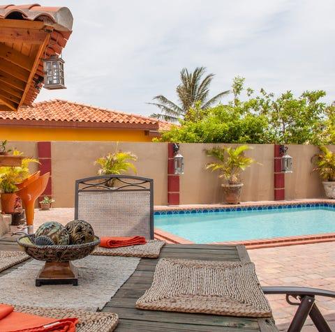 A studio apartment in Noord, Aruba.