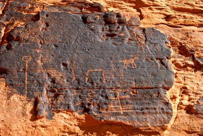 Petroglyph National Monument in New Mexico