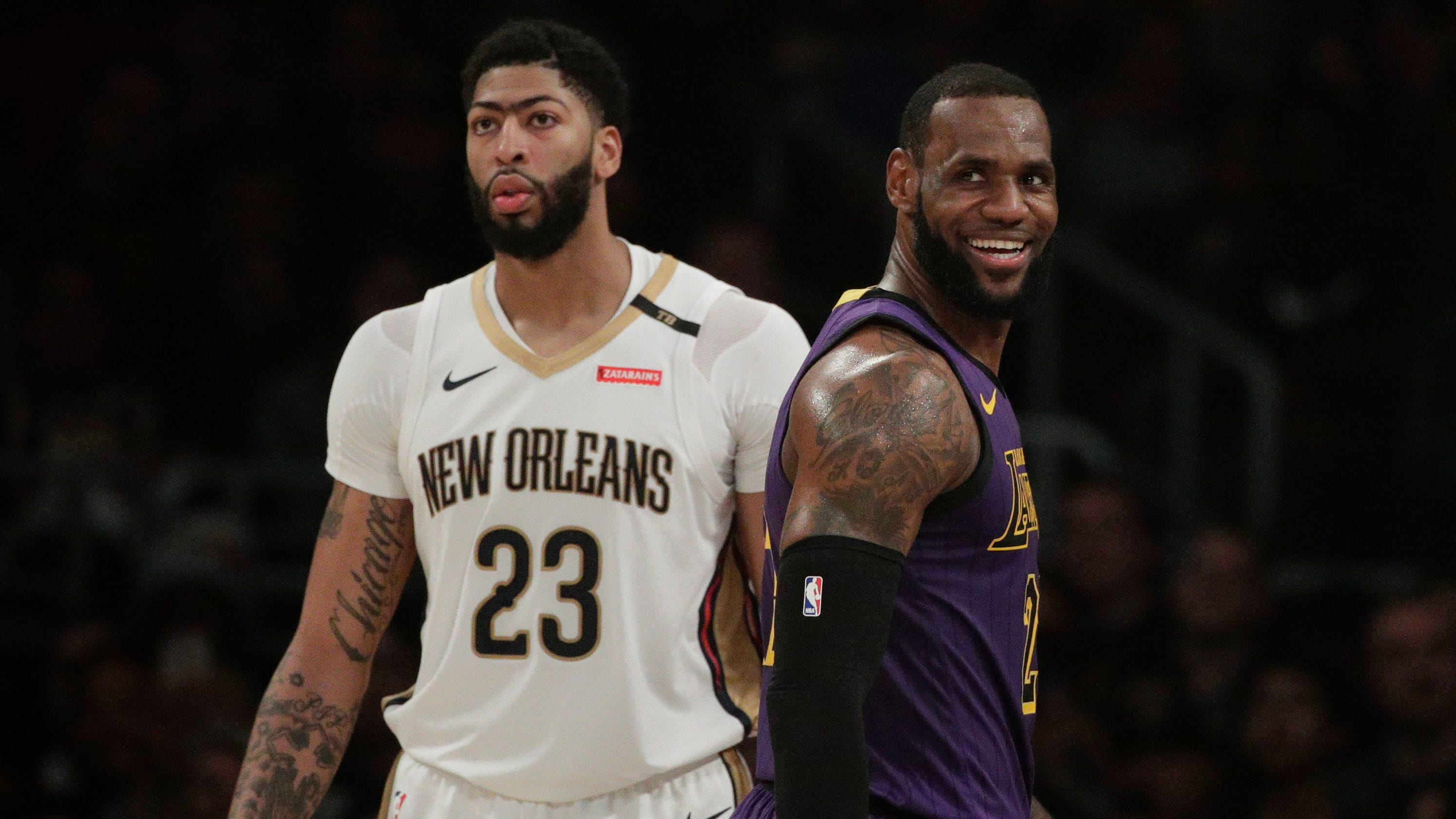 7d79468e7 Anthony Davis  What if LeBron James and Pelicans star get wish now