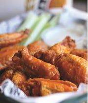 Old School Buffalo Wings from Arthur Bovino's Buffalo New York Cookbook