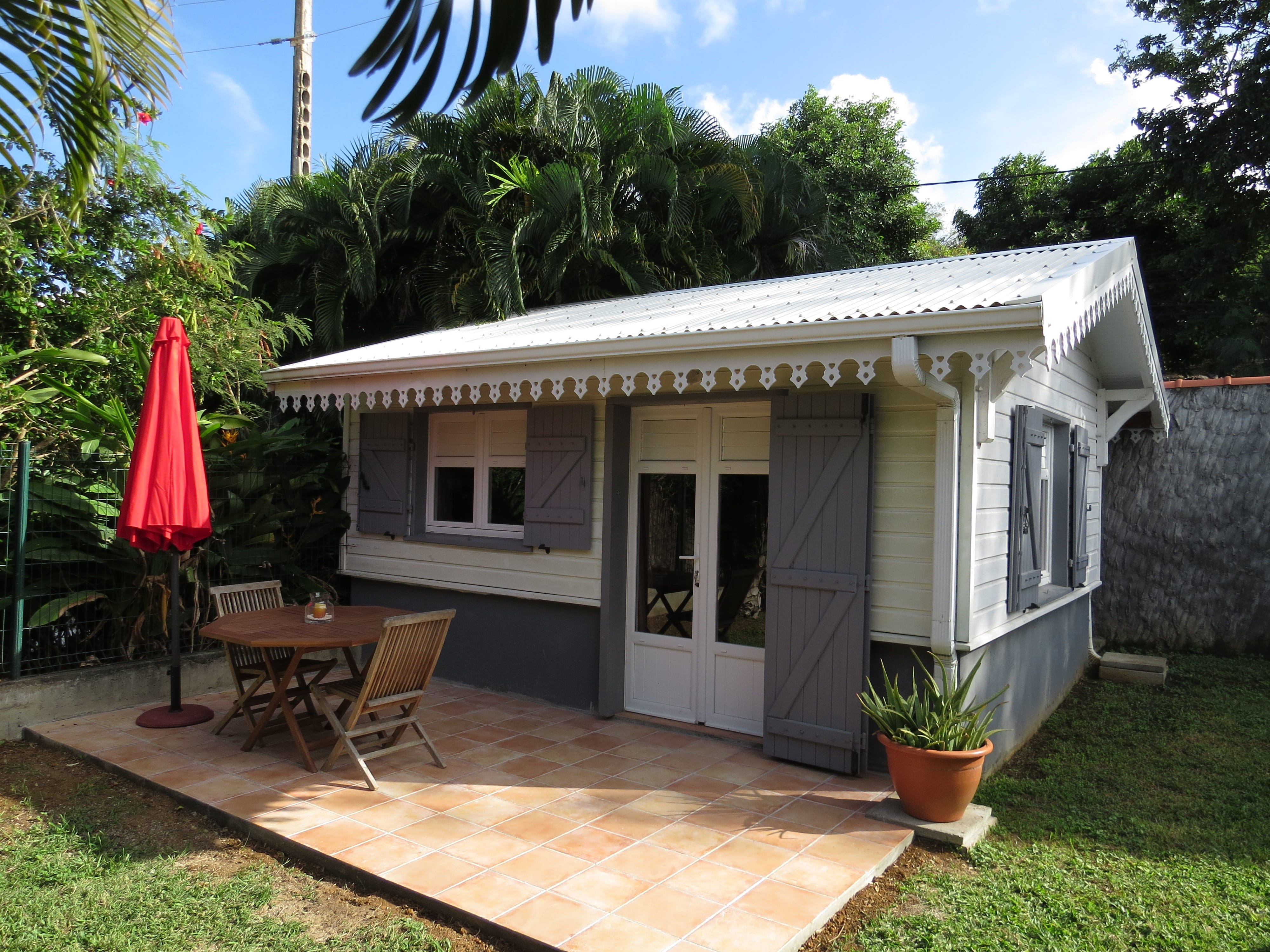A bungalow in Martinique