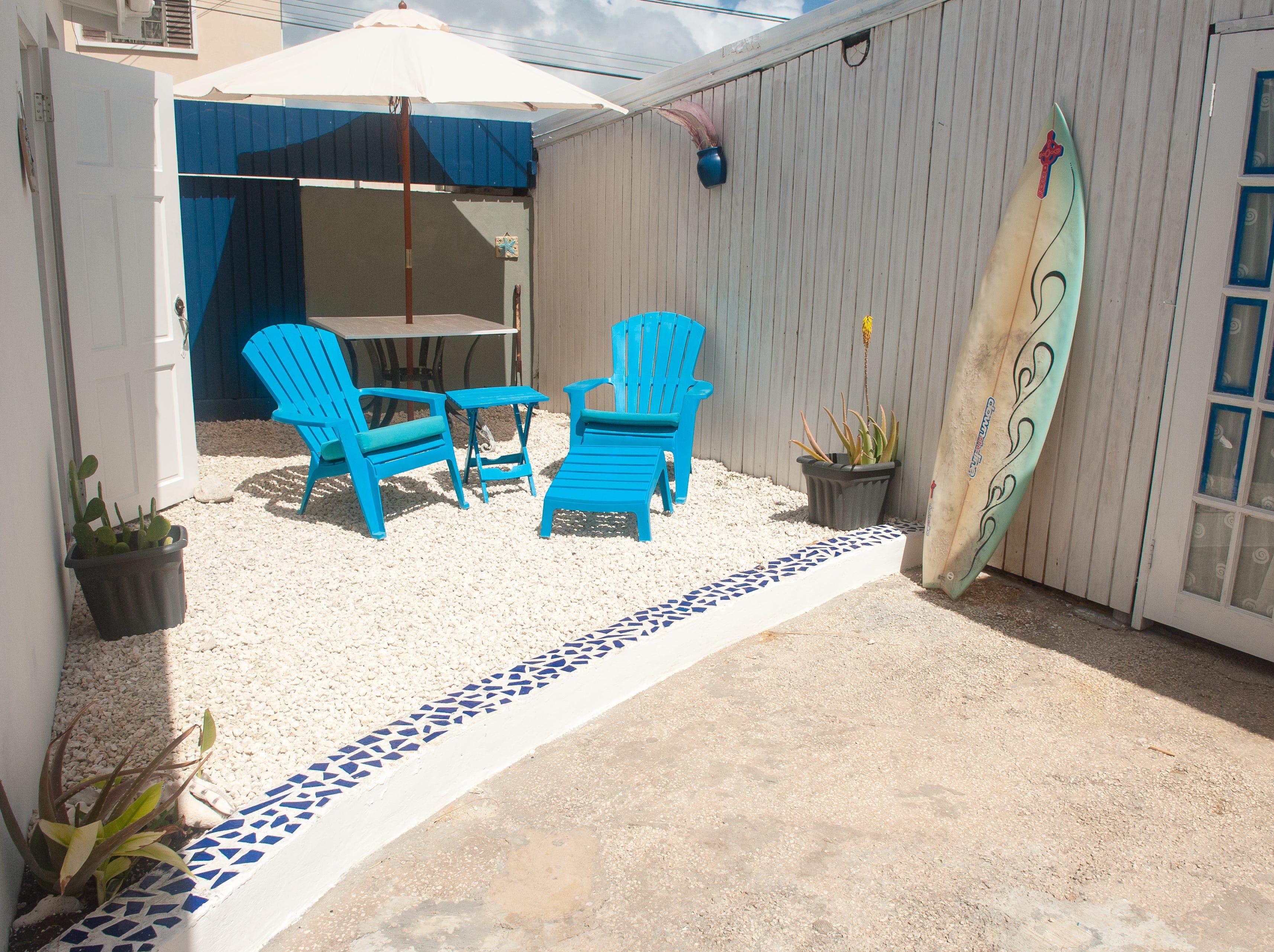 Ocean-front coastal one-bedroom apartment at Coconut Bay in Barbados