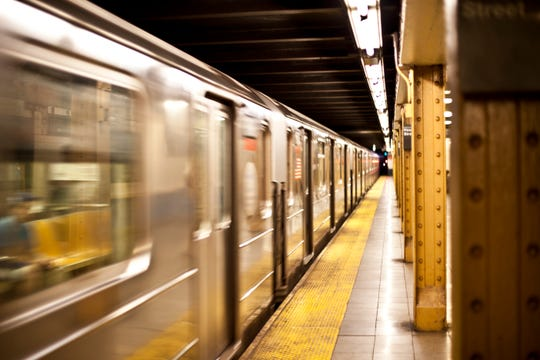 A mother, 22, died after falling down the stairs while holding a stroller at a New York City subway station.