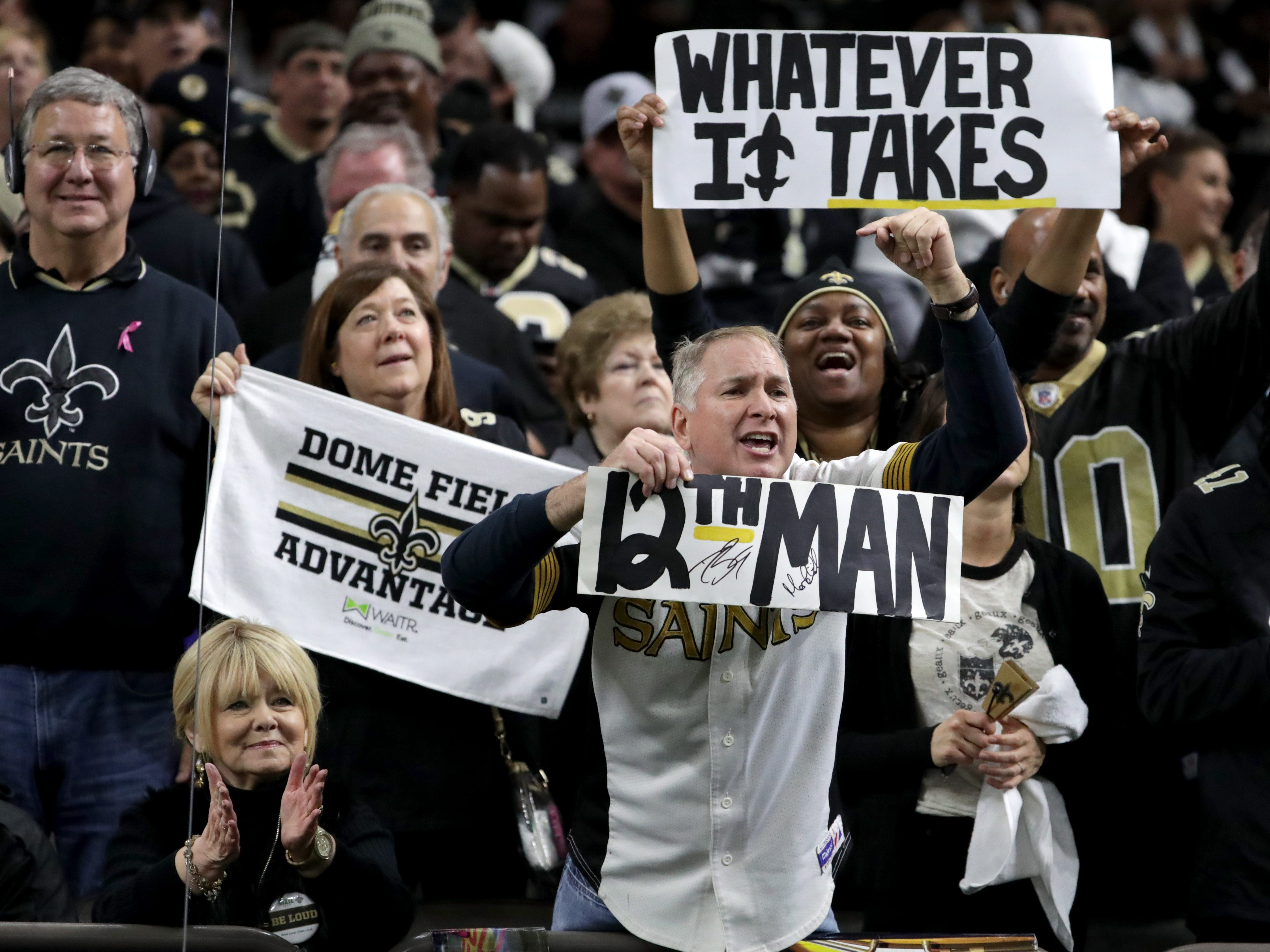 Angry New Orleans Saints fans become anti-Super Bowl partiers