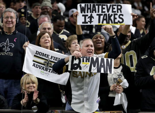 Saints fans are bitter about the NFC Championship game.