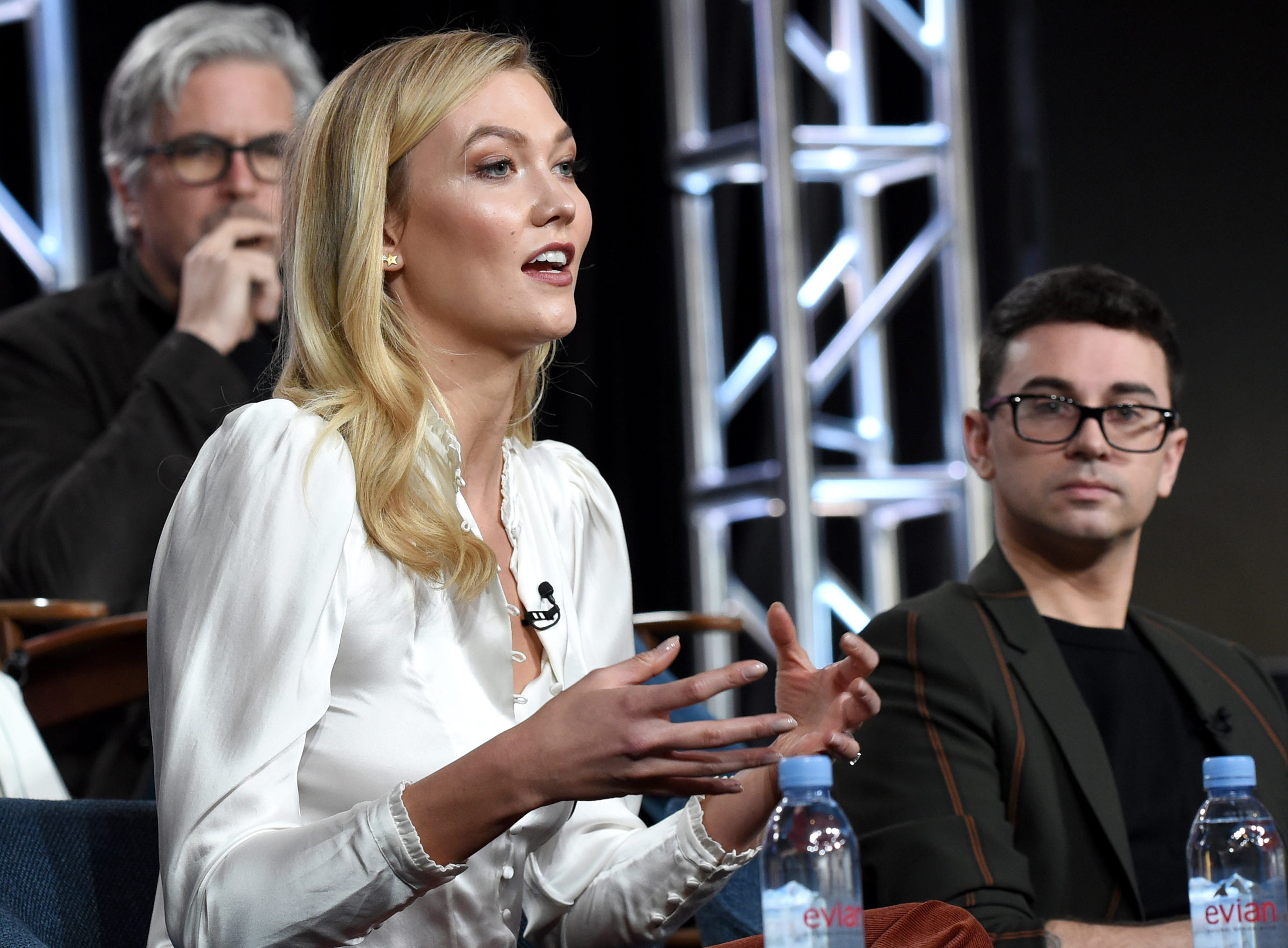"""Bravo presented its latest iteration of """"Project Runway"""" featuring model Karlie Kloss and former """"Project Runway"""" winner Christian Siriano."""