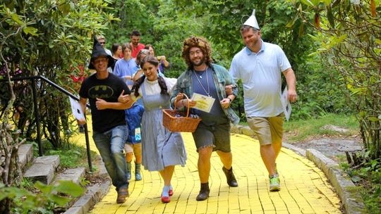 The Land of Oz  — located on top of Beech Mountain near Boone, North Carolina — will offer guests the chance to travel down a yellow-bricked memory lane for a few dates in June and July.