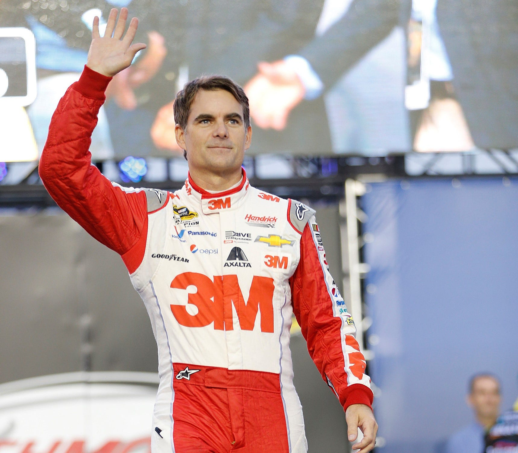 Jeff Gordon waved goodbye to full-time NASCAR driving after the 2015 season.