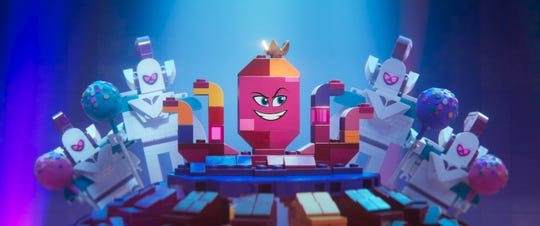 "Queen Watevra Wa'Nabi (voiced by Tiffany Haddish) has a tough time convincing folks she's not evil in ""The Lego Movie 2: The Second Part."""