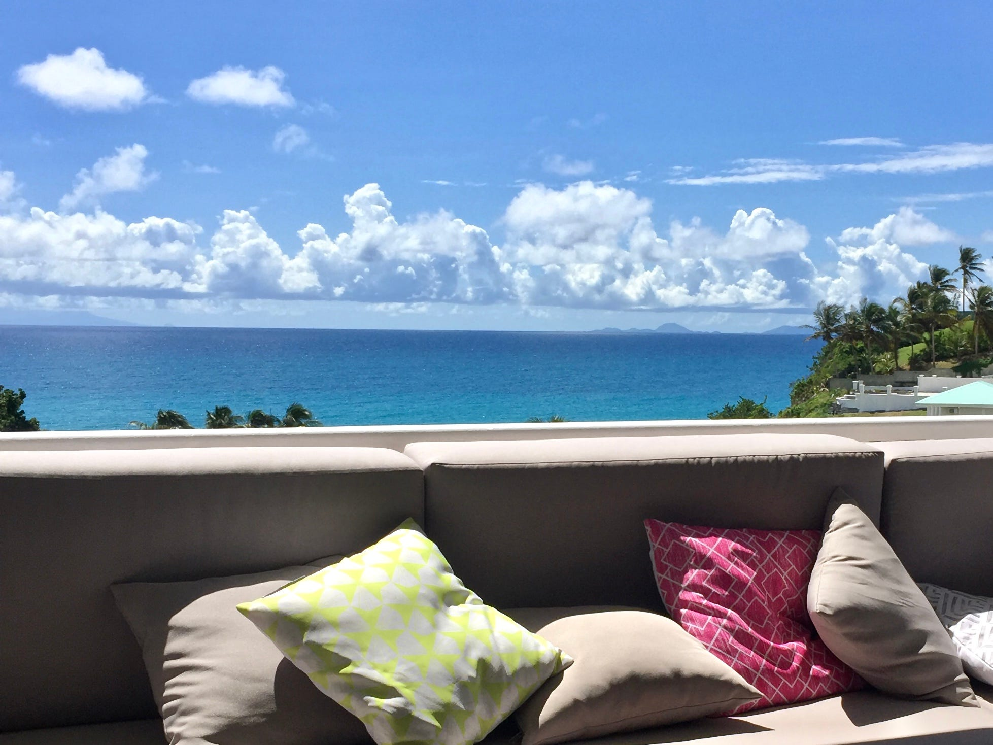 A sea view apartment in Guadeloupe