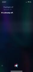 Siri command