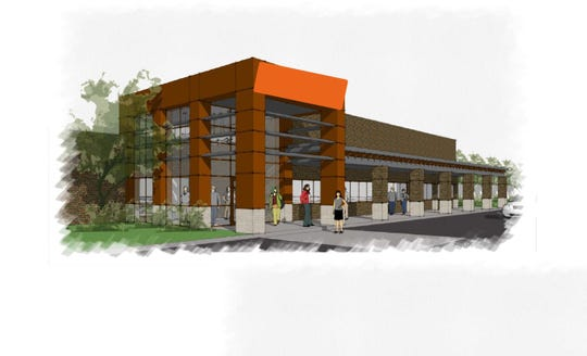 Plans for the new Wren Middle School