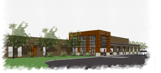 Plans for the new Palmetto Middle School in Anderson District 1.