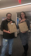 Reporters Mike Davis and Stacey Barchenger were our MOGO delivery test subjects. They really enjoyed it.