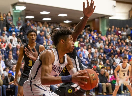 Ranney School Boys Basketball vs Roselle Catholic in the Jersey Shore Challenge at Brookdale College in Middletown, NJ on January 30, 2019.