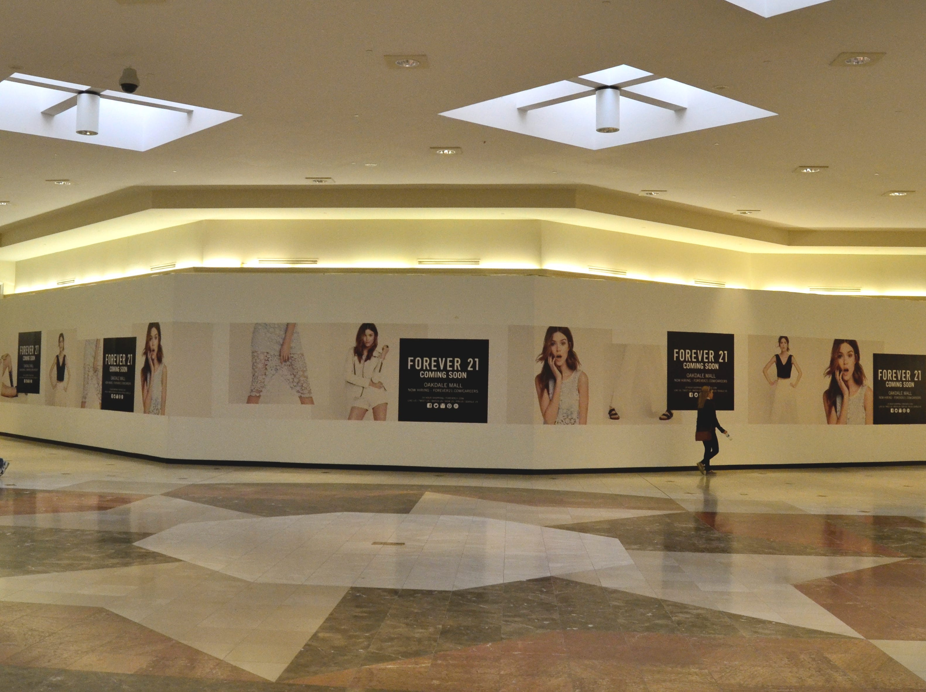 The F21 Red concept store in the Oakdale Mall was scheduled to open in early November of 2014.