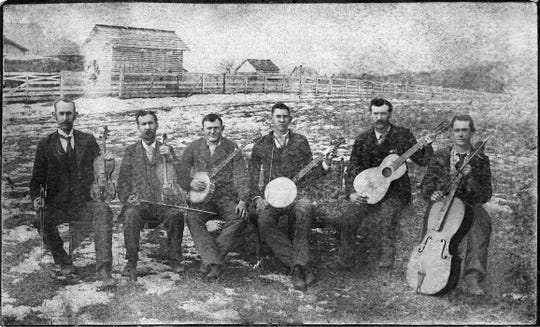 The Swannanoa String Band, pictured here in 1895, is one example of the local music and dance heritage that will be discussed when the Swannanoa Valley Museum & History Center's book club meets for the first time this year, at the Black Mountain Library, on Feb. 8.
