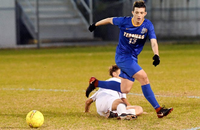 Titusville's Jeremy Pless won the FLORIDA TODAY Community Credit Union Athlete of the Week vote.
