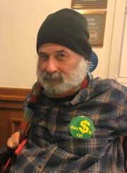 ADAPT volunteer Ron Cranston