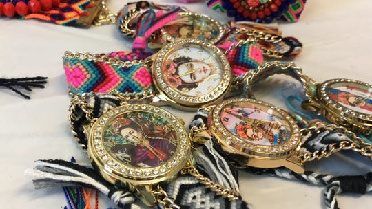 Beyond the Wall boutique in downtown Corpus Christi features Frida Kahlo merchandise, Mexican-style dresses in all sizes and jewelry.