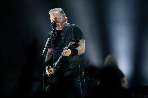 Metallica sets U S  Bank Arena attendance record in Cincinnati