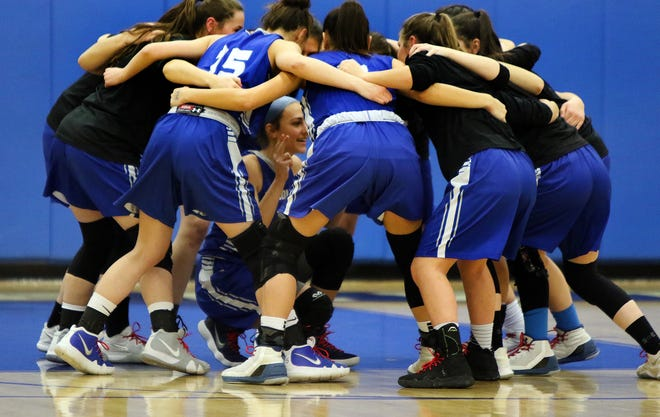 Middlesex at Carteret girls basketball on Wednesday, Jan. 30, 2019.