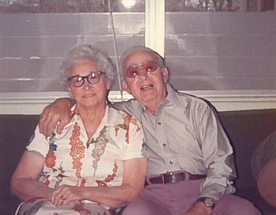 My grandparents, Charles and Amelia Serretti.