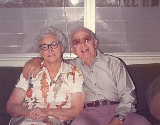 My grandparents, Charles and Amelia Serretti.