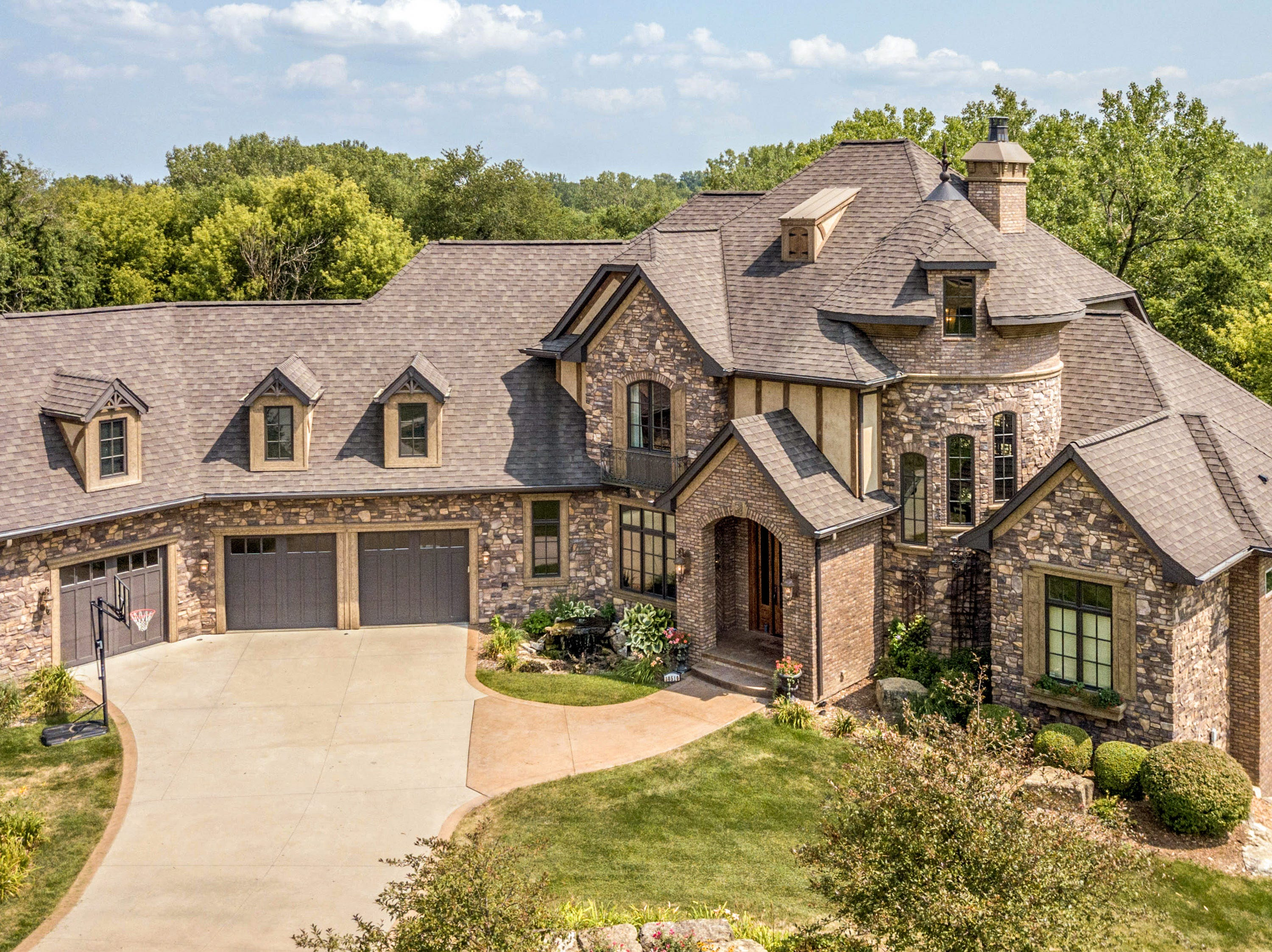 This home on Northwest 75th Place in Johnston sold for $1.07 million in 2018. It has five bedrooms, six bathrooms, a theater room and a wine cellar.