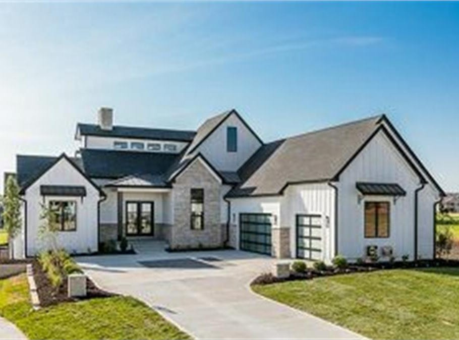 This home on Northwest 167th Street in Clive sold for $1 million in 2018. It's a newly built spec home with four bedrooms, six bathrooms and a theater room in 2,400 square feet.