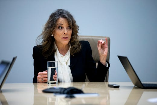 Marianne Williamson: 	wiki, age, married, husband, daughter, networth