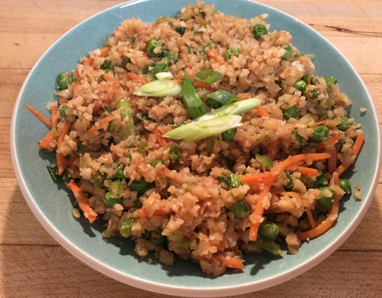 Healthy Table Cauliflower Fried Rice