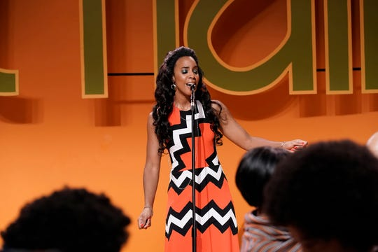 Kelly Rowland as Gladys Knight from BET's 'American Soul' episode 102.