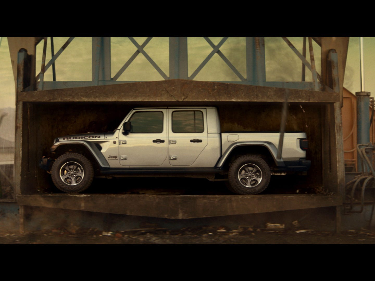 "Jeep® brand ""Crusher"" video debuted across brand's social and digital channels on January 29, 2019, in lead up to the Big Game. The all-new 2020 Jeep Gladiator. What's old becomes new again…and better than ever."