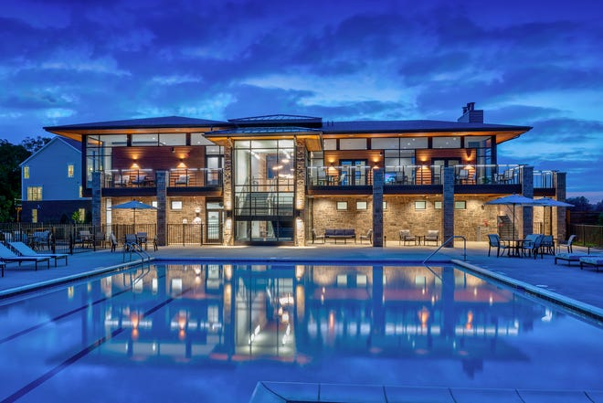 Many new communities, such as North Oaks in Ann Arbor by Toll Brothers, offer on-site amenities.
