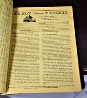 A 1944 issue of Ward's Automotive Reports.