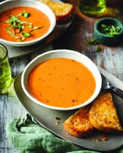 "Cream of Tomato Soup from ""Martina's Kitchen Mix."""
