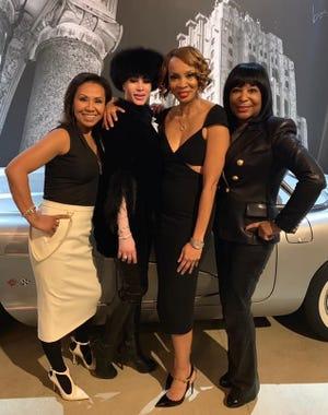 From left, Jessie Beld-Elliott, Donna Briggs, Kiko Davis and Vivian Pickard