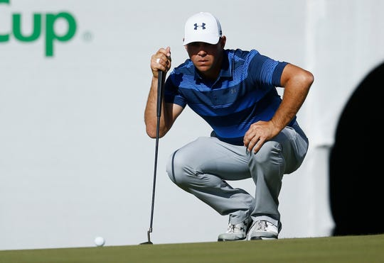 Gary Woodland has three PGA Tour victories, including last year's Phoenix Open in a playoff over Chez Reavie.
