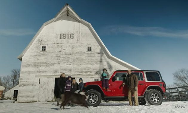 Fiat Chrysler Automobiles NV continued its pre-Super Bowl LIII ad blitz Thursday with two long-form videos from Jeep and Ram posted online.