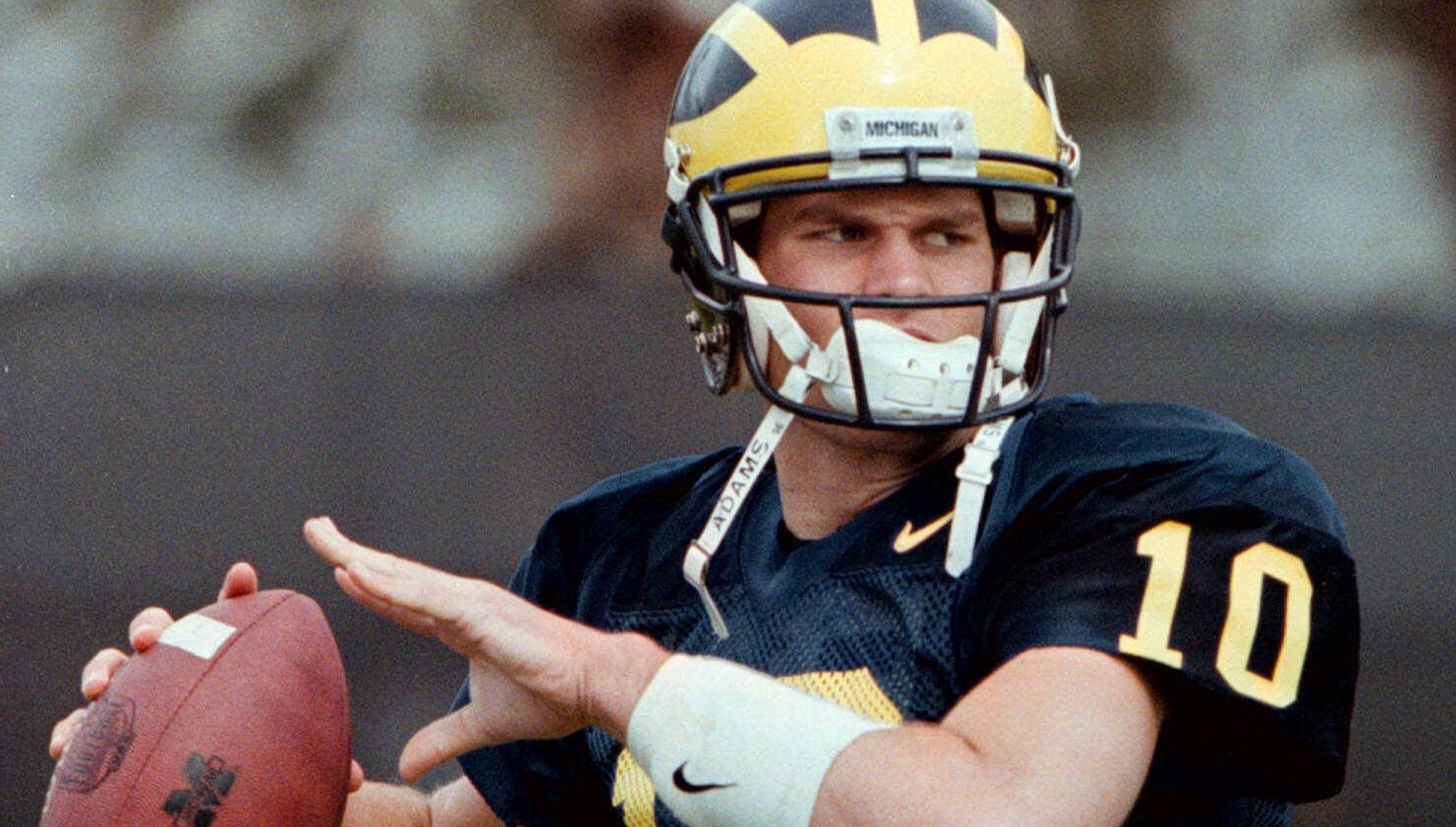 big sale 42962 ea706 As Michigan Wolverine or New England Patriot, Tom Brady 'a ...
