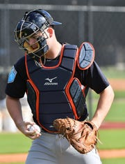 Jake Rogers is polished as a catcher, but will need to hit better to make his way up the Tigers system.