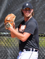 Tigers pitching prospect Zac Houston saved 10 games in 33 appearances last season for Triple-A Toledo.