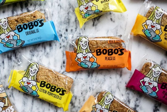 A collection of Bobo's products.