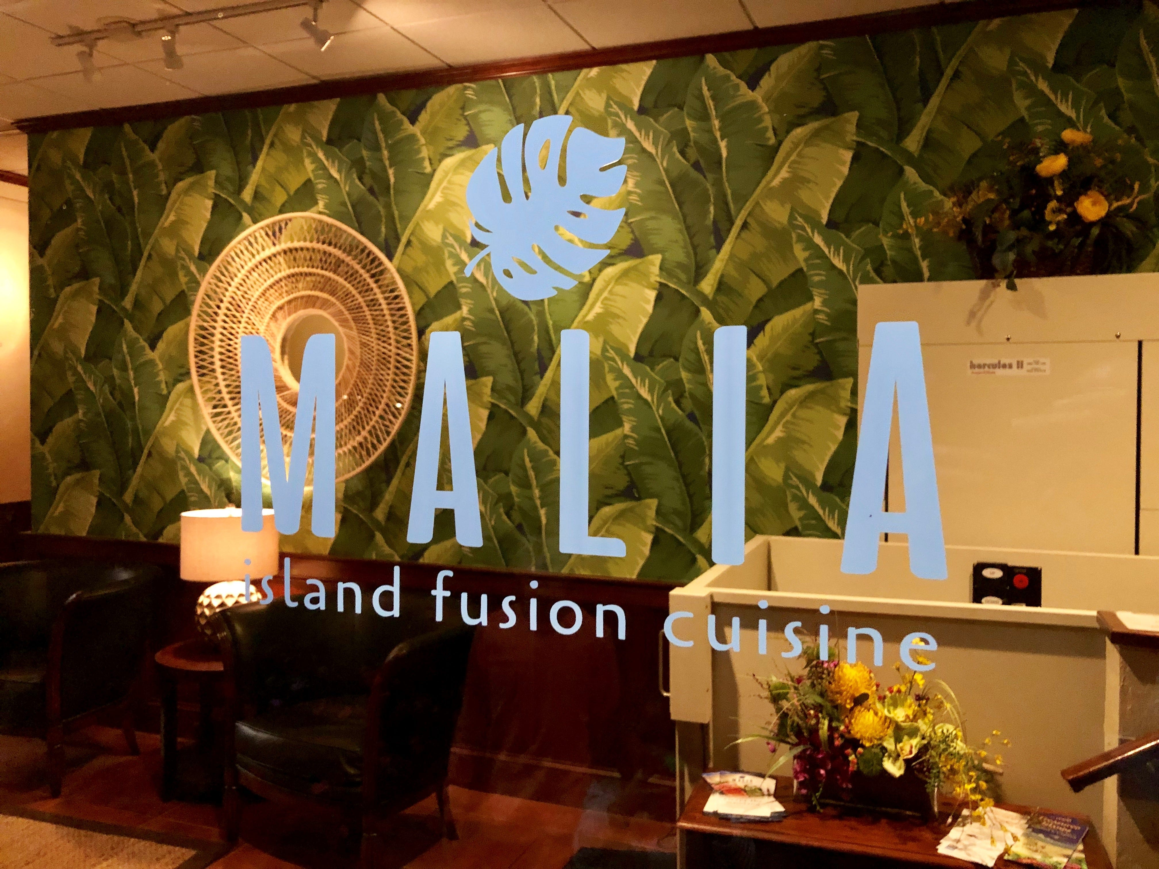 Malia Island Fusion opened in the former Blue Coyote space on Sanibel in November 2018.