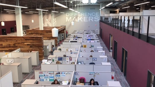 J. J. Keller & Associates near Neenah recently completed a $7 million renovation of one of its buildings creating updated workspaces.