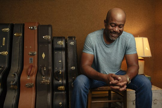 Singer Darius Rucker grew up in Charleston and still lives there.